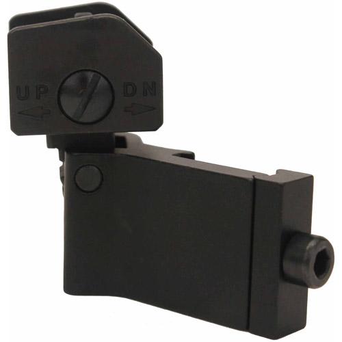 NcStar 45-Degree Folding Rear sight