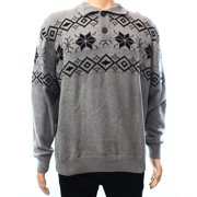 Weatherproof NEW Gray Black Mens Size Medium M Turtleneck Printed Sweater $75