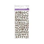 Multicraft Sticker Alphabet Glitter Cheetah