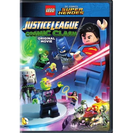 Lego DC Super Heroes: Justice League Cosmic Clash (DVD) (All The Superheroes)