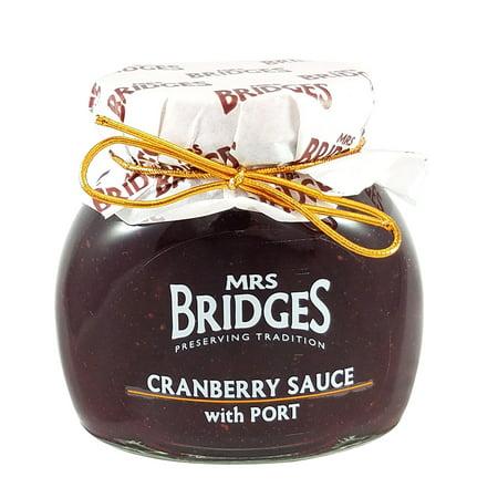 Mrs Bridges Cranberry Sauce with Port, 8.8 oz ()