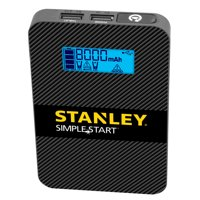 Stanley Portable Jump Starter/USB Power Pack (Li-Ion Rechargeable, SS4LS)