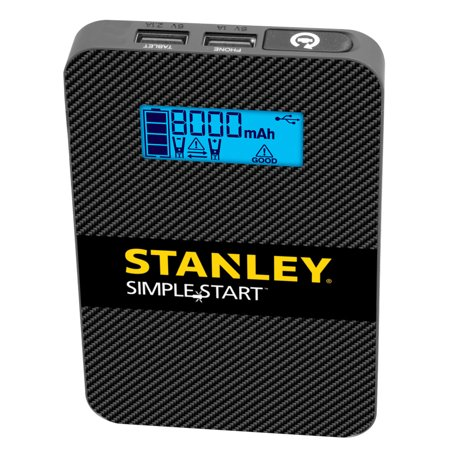 STANLEY PowerToGo Lithium-Ion Jump Starter/Power Pack