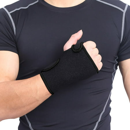Sprains Arthritis Band Bandage Wrap Carpal Tunnel Hands Wrist Support Brace ()