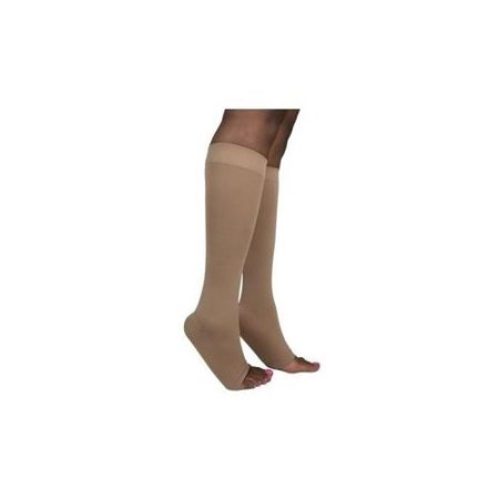 dbb2dd015cd SIGVARIS - 842 Soft Opaque Open Toe Knee Highs - 20-30 mmHg Short  Sig842C-OT - Walmart.com