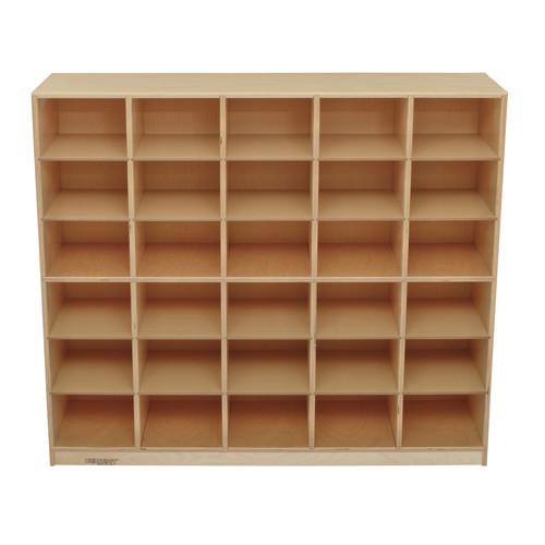 Childcraft 30 Compartment Cubby with Casters