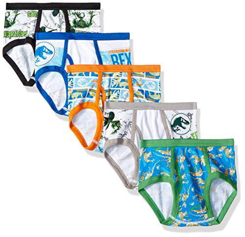 Jurassic World 2 x boys briefs undies Trunks NEW sizes 4-12 Free Postage!