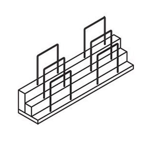 Hon Announce Series Organizer Wood Veneer 34 78w X 7d X 15 34h
