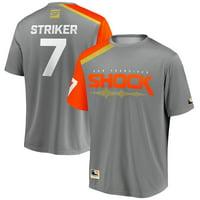 STRIKER San Francisco Shock Overwatch League Replica Home Jersey - Gray