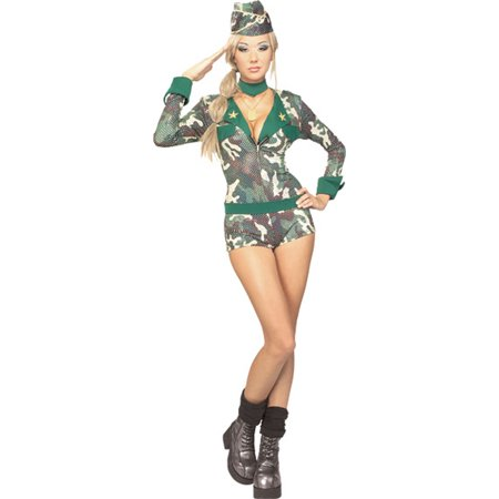 Adult Sexy Army Girl Costume Rubies 888124