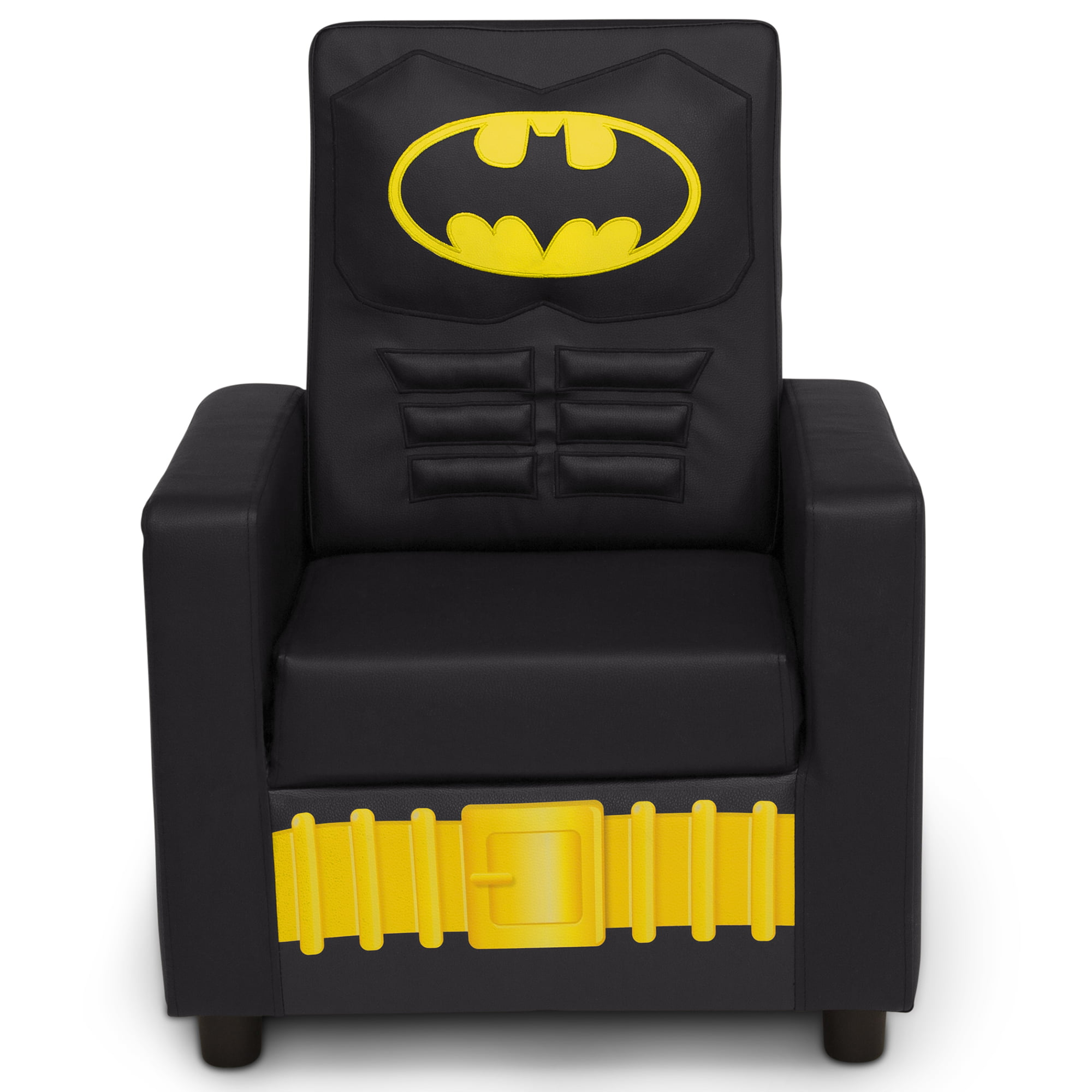 Dc Comics Batman Youth High Back Upholstered Chair By Delta Children Walmart Com Walmart Com