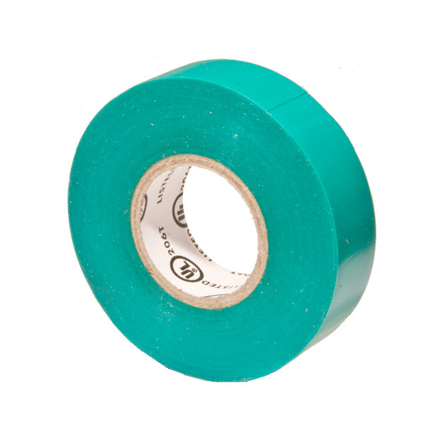 Vinyl Plastic Electrical Tape 7MIL X 60ft. PVC Green