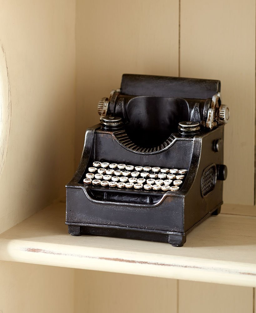 Retro Pencil Holders Typewriter, Add A Vintage Look To Your Office Space  With This Retro