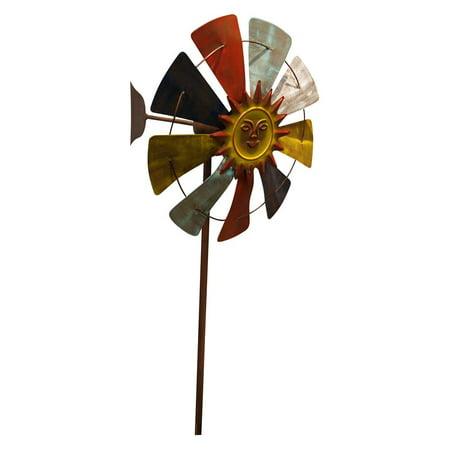 Windmill Garden Stake