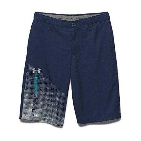 Under Armour Big Boys' UA Fade Right Golf Shorts LG (14-16 Big Kids) x One Si... ()