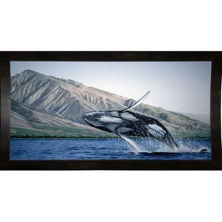 Breakwater Bay 'Breeching Humpbacks Maui' Graphic Art Print
