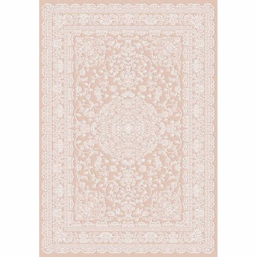 World Rug Gallery Traditional Persian Vintage Medallion Indoor Area Rug