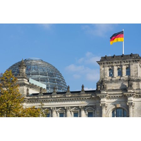 Berlin, Germany Reichstag Building Famous City Center Print Wall Art By Bill Bachmann