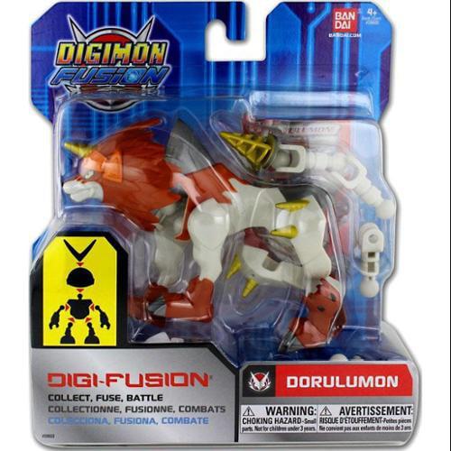 Digimon Fusion Digi-Fusion Dorulumon Action Figure by