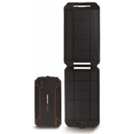 Powertraveller PTLEXT001 12000 mAh Water Resistant Rugged Solar Powered Charger, 136 x 78 x 22 mm - image 1 of 1