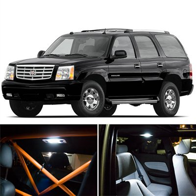 2006 Cadillac Escalade Led (Cadillac Escalade Interior Package LED Lights Kit SMD White 2002-2006)