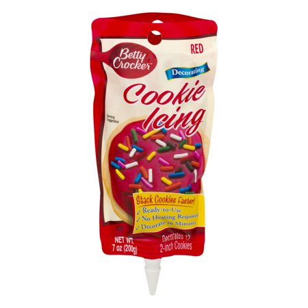 betty crocker decorating cookie icing red 7 0 oz