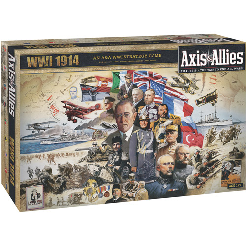Wizards of the Coast Axis & Allies 1914 Game