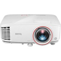 BenQ 1080p Short Throw Home Theater and Gaming Projector, White