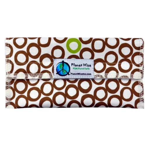 Planet Wise Sandwich and Snack Bags (Snack Bag, Lime Cocoa Bean)