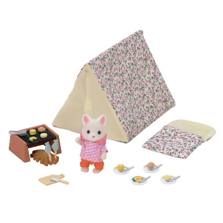 Calico Critters Let's Go Camping (Best Places To Go Camping In Minnesota)