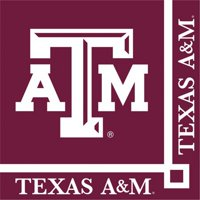 Club Pack of 240 NCAA Texas A&M Aggies 2-Ply Tailgating Party Beverage Napkins