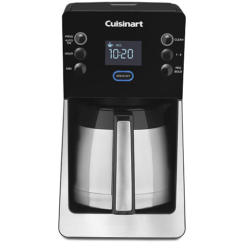 Cuisinart PerfecTemp 12-Cup Thermal Programmable Coffeemaker, Black DCC-2900