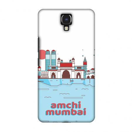 Infinix Note 4 Case, Premium Handcrafted Designer Hard Snap on Shell Case ShockProof Back Cover with Screen Cleaning Kit for Infinix Note 4 - Aamchi Mumbai