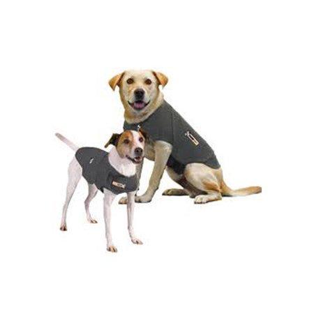 Medium Dog Coat - ThunderWorks ThunderShirt Classic Dog Anxiety Jacket, Medium, Gray