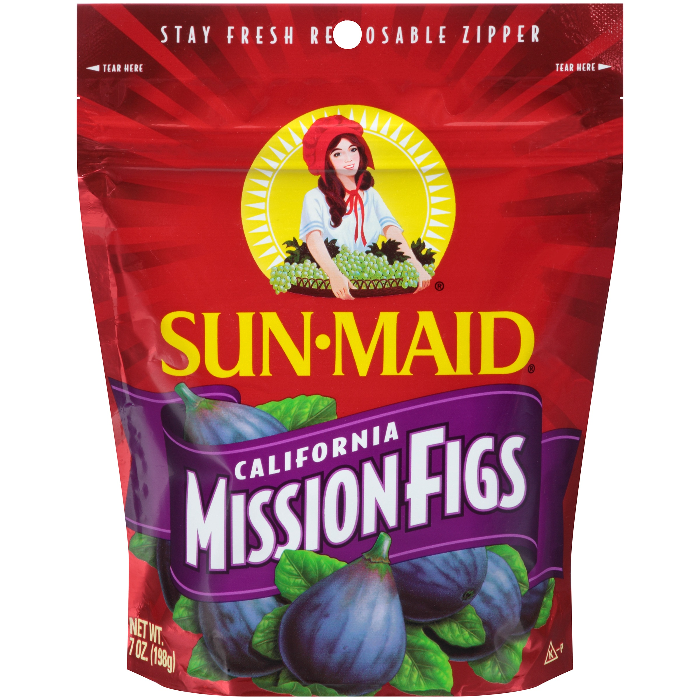 (3 Pack) Sun-Maid California Mission Figs, 7 oz