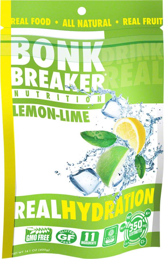 Bonk Breaker Hydration Drink Mix: Lemon Lime, 40 Serving Bag