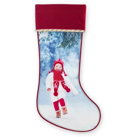 Holiday Photo Stocking - Photo Stocking