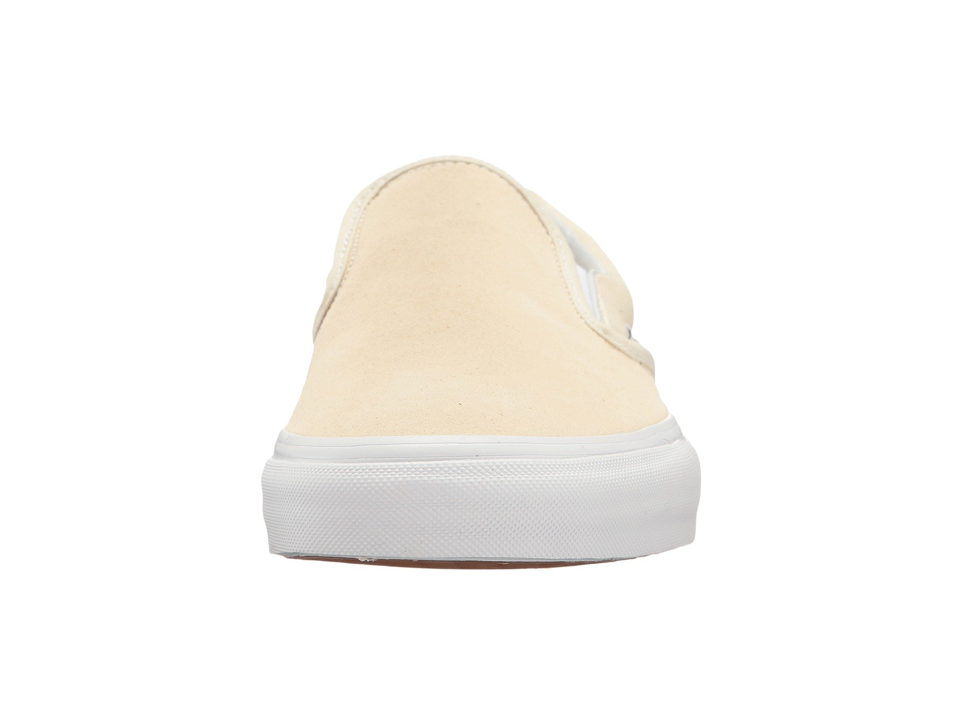 5c3e6bdf2ac Vans - Vans Classic Slip-On Suede And Canvas Afterglow   True White  Skateboarding Shoe - 9.5M 8M - Walmart.com