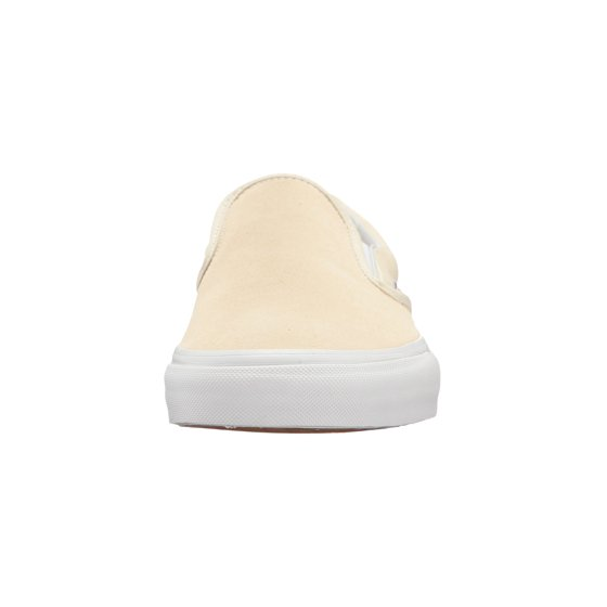 a4aa6ccc4e Vans - Vans Classic Slip-On Suede And Canvas Afterglow   True White  Skateboarding Shoe - 9.5M 8M - Walmart.com