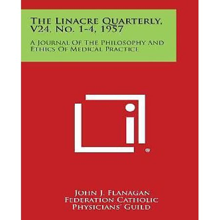 The Linacre Quarterly, V24, No. 1-4, 1957: A Journal of the Philosophy and Ethics of Medical Practice - image 1 de 1