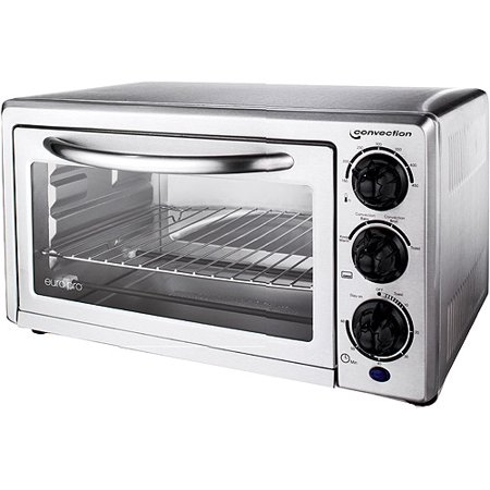 Euro pro to36 stainless steel convection oven - Cool touch exterior convection toaster oven ...