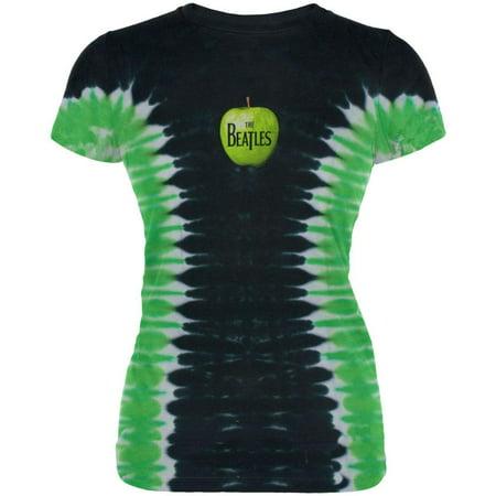 2d7f7aa2a60de The Beatles - Apple Logo Tie Dye Juniors T-Shirt - image 1 of 1 ...