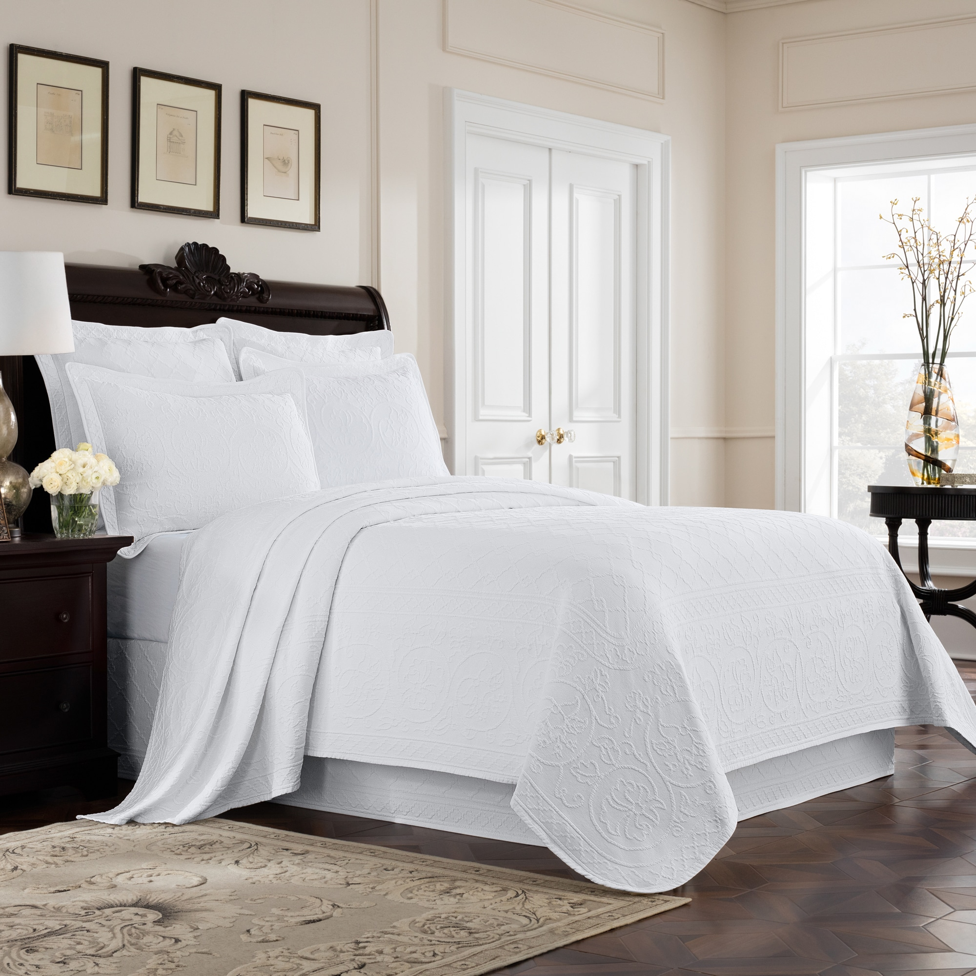Royal Heritage Williamsburg Richmond Cotton Bedskirt