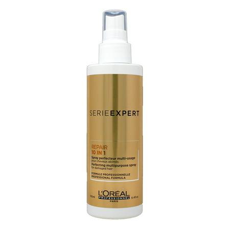 L'Oreal Serie Expert Repair 10 In 1 Perfecting Multipurpose Hairspray 6.4 Ounce ()