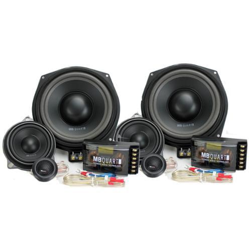 MB Quart QM200.3BMW 8.5  4 Ohm 3-Way Speaker System For Select BMW Vehicles