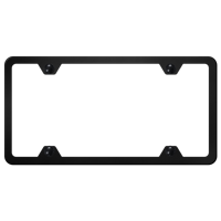 3896e2cf2f94 Product Image Au-TOMOTIVE GOLD 4 Hole Slimline Frame - Black Powder-Coated  Stainless
