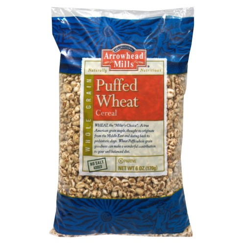 Arrowhead Mills Puffed Wheat Cereal, No Salt Added, 6 Oz