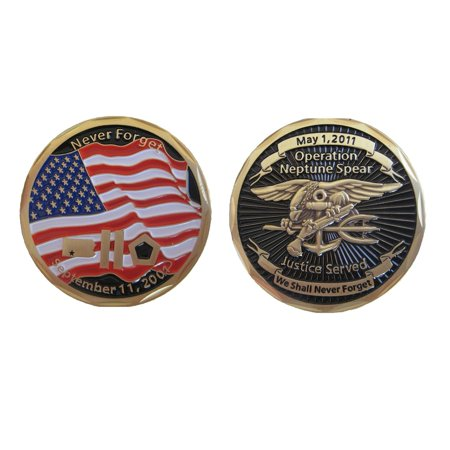 Operation Neptune Spear Navy SEAL Challenge Coin (bin Laden