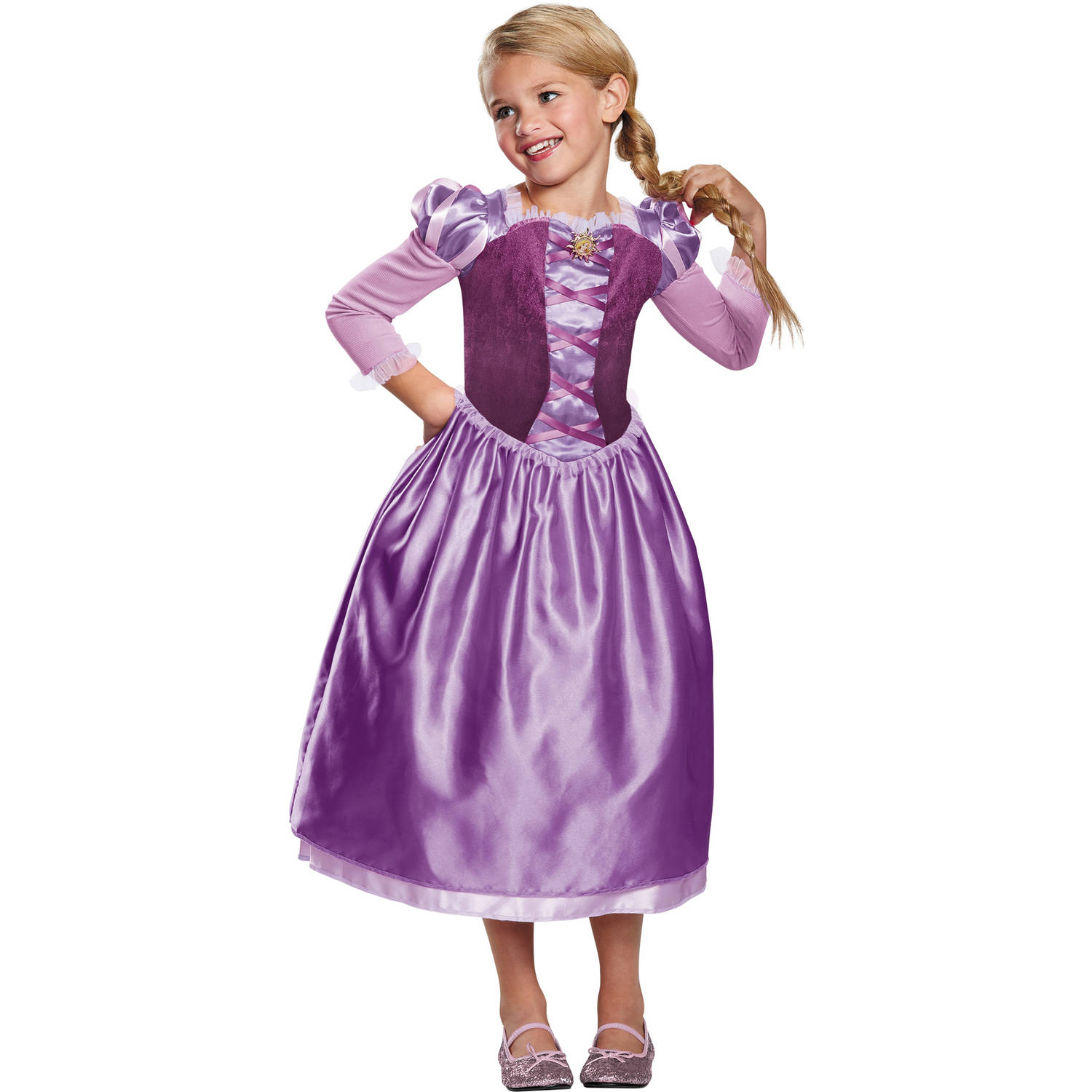 Rapunzel Day Dress Classic Girls Child Halloween Costume