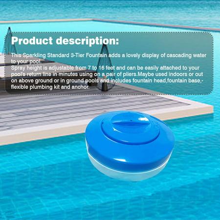 Pool Chlorine Dispenser Floating Chlorine Tablet Dispenser Automatic Chlorine Floater for Pool Spa Hot Tub - image 4 of 9